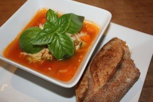 soup served
