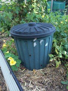 in garden composting