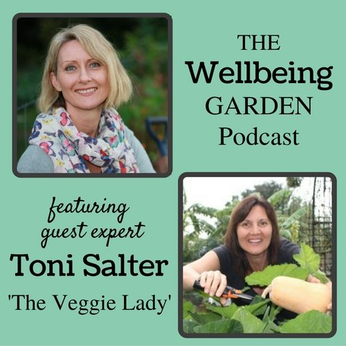 003 – A Journey to Therapeutic Gardening with Toni Salter [Podcast]