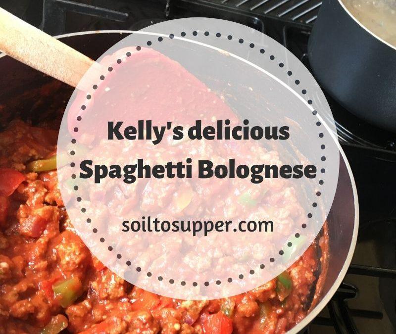 Club Member Recipe – Spaghetti Bolognese by Kelly Quinn.